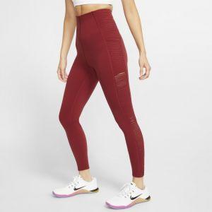 Nike Legging de training à franges pour Femme - Rouge - Taille XS - Female