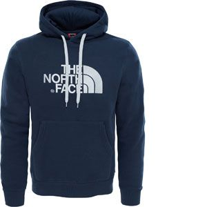 The North Face Drew Peak Sweat-Shirt à Capuche Homme, Urban Navy/High Rise Grey, FR S (Taille Fabricant S)