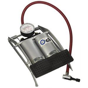 Perel AFP02 Pompe à pied double cylindre, 6,9 Bar de pression maximale