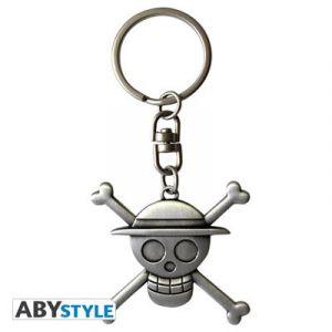 Abystyle Porte-clés - One Piece - Crâne de Luffy 3D