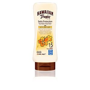 Hawaiian Tropic Lotion De Protection Ultra Satin Radiance Spf 15 Sun