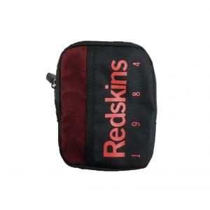 Redskins Sacoche plate Harmonie noire à détails rouges