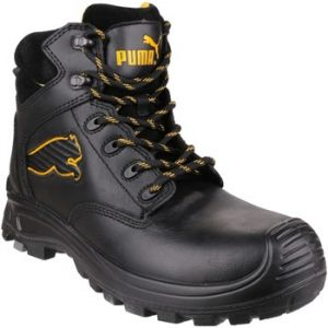 Puma Chaussure de sécurité Borneo Black Mid S3