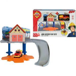 Dickie Toys Sam le Pompier Mini-Rescue Set
