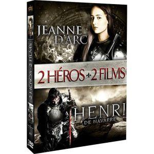 Coffret 2 Héros : Henri de Navarre + Jeanne d'Arc