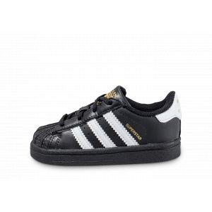 Adidas Superstar Bébé Noire Et Blanche 19 Baskets