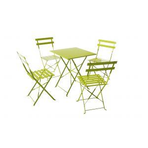 Salon de jardin vert anis - Comparer 88 offres