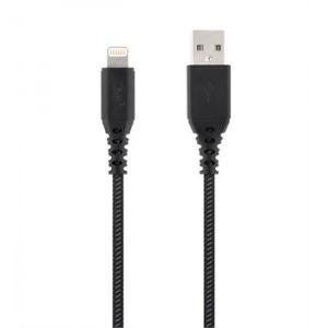 Câble Usb 2.0 Lightning Tnb Noir Gris 3 M