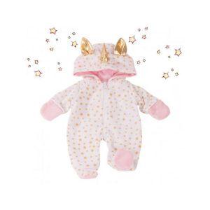 Gotz Goetz Pyjama licorne bébé 33cm