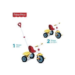 SmarTrike Tricycle Glee - Rouge-Jaune