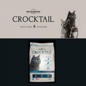 Croquettes Crocktail Sterilized Au Poisson Pour Chat - Flatazor - 2kg