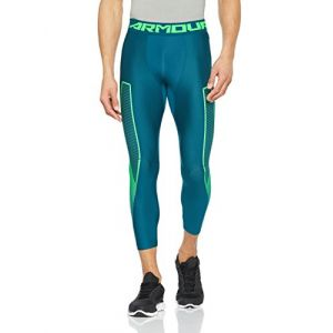 Under Armour Under Armour HG Armour Graphic 3/4 Legging Homme, Tourmaline Teal, XL