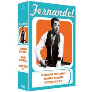 Coffret Fernandel - Ennemi Public N°1 + Le Couturier de ces dames + Honoré de Marseille