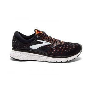 Brooks Chaussures running Glycerin 16 - Black / Orange / Grey - Taille EU 45 1/2