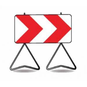 Taliaplast 526811 - Panneau signalisation danger k8 1000x500mm t1