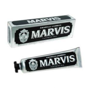 Marvis Dentifrice amarelli réglisse