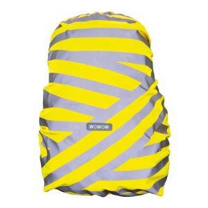 Wowow Housse de sac à dos Fluorescent Impression réfléchissant et imperméable%u2013wowow bagcover Berlin Jaune%u2013XL hauteur 83cm Largeur 61cm