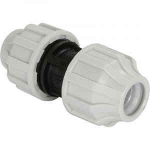 Mr Plomberie Manchon egal plastique a serrage exterieur pour tube polyethylene semi-rigide