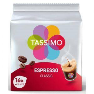 Tassimo Espresso Classique 80 Boissons 5 x 16 T Discs 96 g