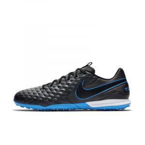 Nike Chaussure de football pour surface synthétique Tiempo Legend 8 Academy TF - Noir - Taille 45 - Unisex