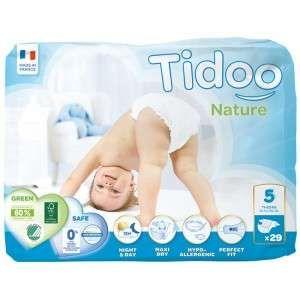 Tidoo 29 couches Nature Eco taille 5 (12-25 kg)