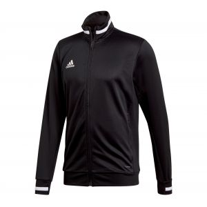 Adidas Team19 Track Jacket Veste de survêtement Homme, Black/White, FR : L