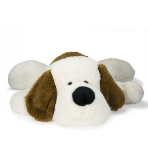 Soft Friends Peluche Chien couché  60 cm