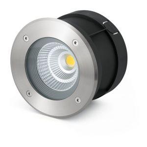 Faro 70589 - Encastré extérieur inox 24 COB LED 12W