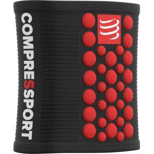 Compressport 3D Dots - Collants - rouge/noir unisize Gants & Manchettes running