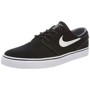 Nike Zoom Stefan Janoski OG, Chaussures de Skate Homme, Noir (Black/White/Gum Light Brown 012), 43 EU