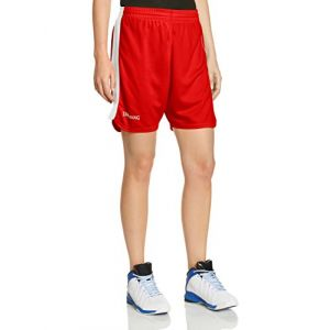 Spalding Spalding 4Herii Short Femme Rouge/Blanc FR : XS (Taille Fabricant : XS)