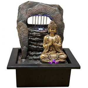Sunchine Fontaine d'intérieur Bouddha Zen Harukata