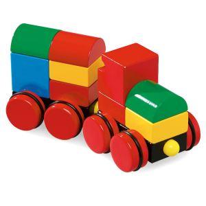 Brio Train empilable magnétique couleurs primaires