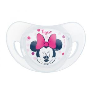 Tigex 2 sucettes Physiologiques Silicone +18 m Minnie