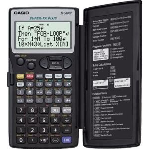 Casio FX-5800P - Calculatrice scientifique