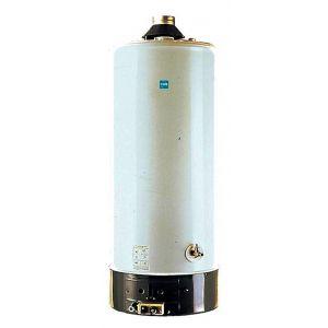 Styx Chauffe-eau - TES X cheminée - Nouvelle generation Bas NOx - TES X120 Accumulateur ECS Gaz Bas NOX au Sol 115 L. - 9,5 Kw - Conduit D.81