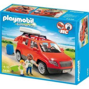 Playmobil 5436 Summer Fun - Voiture avec coffre de toit