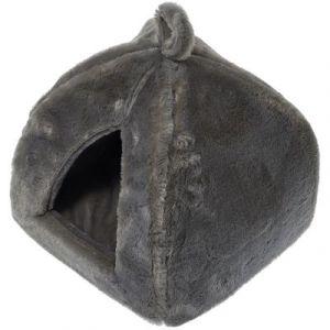 Dome ''furly'' gris : L 40 cm x L 40 cm