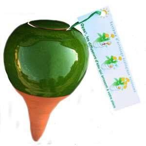 Oyas Environnement OYAS à planter émaillée verte
