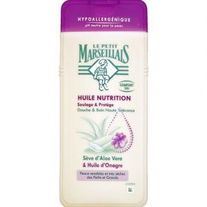 Le Petit Marseillais Gel douche huile nutrition aloe huile onagre