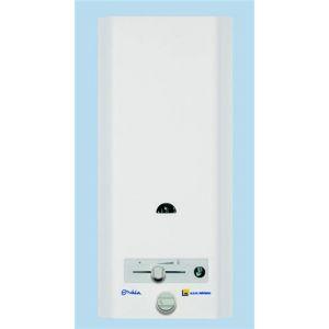 ELM Leblanc Chauffe-eau gaz à production instantanée ONDEA avec coupe tirage anit-refouleur - LM 5 AR - sans mélangeur Butane /propane -