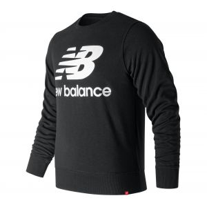 New Balance Pull nb essentials logo noir homme m