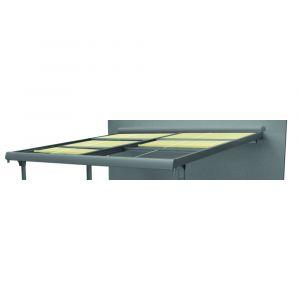 Kit stores pour tonnelle aluminium Azura 14m² - Gris anthracite