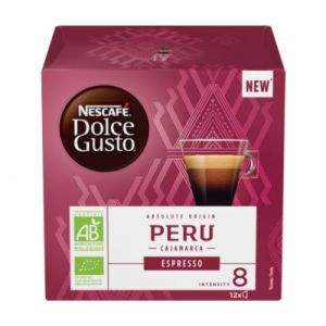 Nescafe Espresso Perou bio