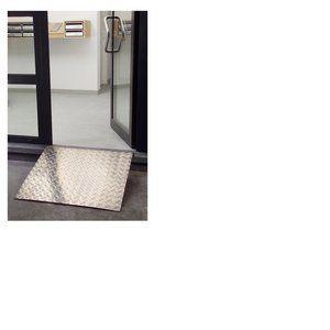 Mottez Rampe d'accès pour trottoir en aluminium