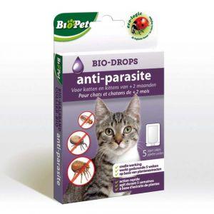 BSI Bio-Drops anti-parasite BioPet sans Insecticide Chat