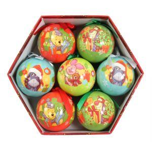 7 boules de Noël Disney Winnie l'Ourson