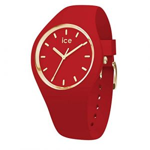 Ice Watch Ice-Watch - ICE glam colour Red - Montre rouge pour femme avec bracelet en silicone - 016263 (Small)
