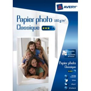 Avery-Zweckform 2741-40 - 40 feuilles de papier photo Classique 180g/m² (A4)