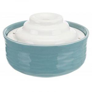 Trixie Fontaine à eau en céramique Vital Falls pour chat et petit chien - fontaine 1,5 L